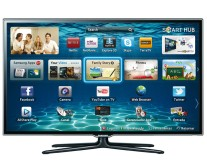 "TV LED 46"" Smart TV Samsung 3D Full HD 3 HDMI Conversor Digital Integrado UN46ES6500"