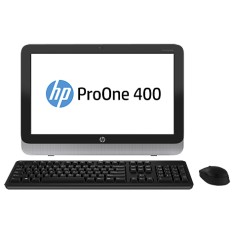 Foto All in One HP ProOne 400 G1 Intel Core i3 4160T 4 GB 500 Windows 8 Pro 19,5""