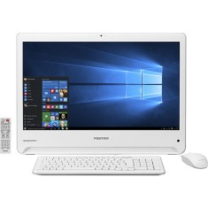 Foto All in One Positivo UM3557 Intel Celeron N2808 4 GB 500 Windows 10 Home 23,6""