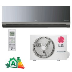 Foto Ar Condicionado Split LG 12000 BTUs AS-Q122BRG2