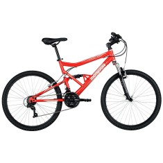 Foto Bicicleta Mountain Bike Mongoose 21 Marchas Aro 26 Suspensão Full Suspension Freio V-Brake Full Edge