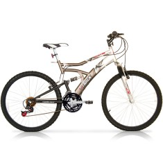 Foto Bicicleta Mountain Bike Track & Bikes 21 Marchas Aro 26 Suspensão Full Suspension Freio V-Brake Boxxer