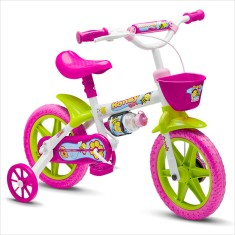 Foto Bicicleta Nathor Aro 12 Freio V-Brake Honey Girl