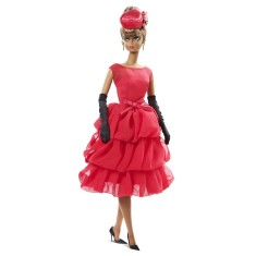 Foto Boneca Barbie Colecionáveis Little Red Dress Mattel