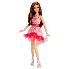 Foto Boneca Barbie Fashion and Beauty Style Festa Teresa Mattel