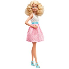 Foto Boneca Barbie Fashionistas Powder Pink Mattel