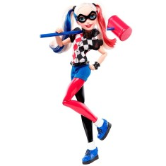 Foto Boneca DC Super Hero Girls Arlequina Mattel