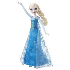 Foto Boneca Frozen Musical Lights Elsa Hasbro