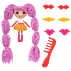Foto Boneca Lalaloopsy Mini Loopy Hair Peanut Big Top Buba