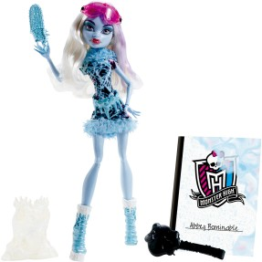 Foto Boneca Monster High Aula de Arte Abbey Mattel