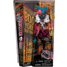 Foto Boneca Monster High Boo York Catty Mattel