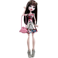 Foto Boneca Monster High Boo York Draculaura Mattel