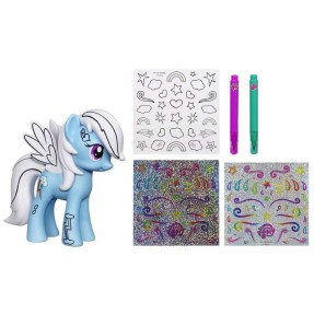 Foto Boneca My Little Pony Decore a Pony Rainbow Dash Hasbro