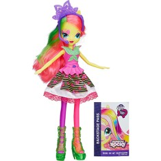 Foto Boneca My Little Pony Equestria Girls Rainbow Rocks Fluttershy Hasbro