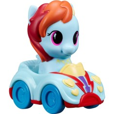 Foto Boneca My Little Pony Rainbow Dash Playskoll Friends Veículo Hasbro