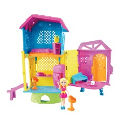Foto Boneca Polly Super Clubhouse Mattel