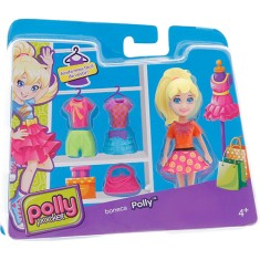 Foto Boneca Polly Super Fashion Cbw79/CGJ01 Mattel