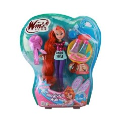 Foto Boneca Winx Magical Hair Bloom Cotiplás