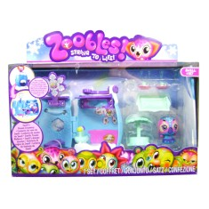 Foto Boneca Zoobles Zooble Drop In Play Set Swell Long Jump