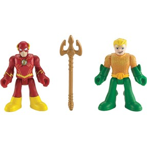 Foto Boneco Aquaman The Flash Imaginext BBF20/BFW70 - Mattel