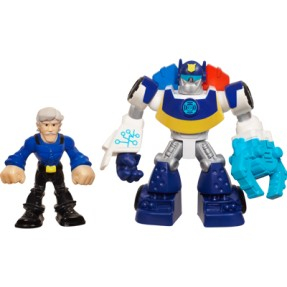 Foto Boneco Chase The Police-Bot Chief Charlie Burns Transformers Rescue Playskool Heroes A2107 - Hasbro