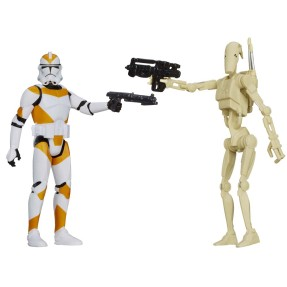 Foto Boneco Clone Trooper Battle Droid Star Wars A5232/A5228 - Hasbro