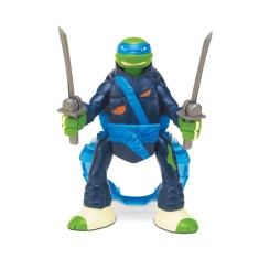 Foto Boneco Tartarugas Ninja Leonardo Throw In Battle BR285 - Multikids