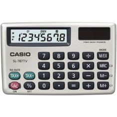 Foto Calculadora De Bolso Casio SL-787TV