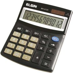Foto Calculadora De Mesa Elgin MV-4124