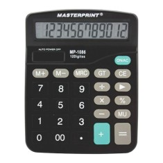 Foto Calculadora De Mesa Masterprint Mp1086