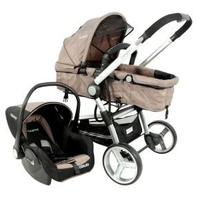 Foto Carrinho de Bebê Travel System com Bebê Conforto Lenox Compass