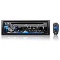 Foto CD Player Automotivo JVC KD-R869BT Bluetooth USB Viva Voz