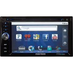 "Foto Central Multimídia Automotiva Pósitron 6 "" SP8990 Touchscreen Bluetooth"