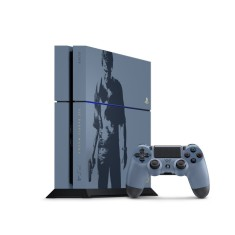 Foto Console Playstation 4 500 GB Sony Edição Limitada Uncharted 4