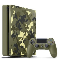 Foto Console Playstation 4 Slim 1 TB Sony Call of Duty WW2
