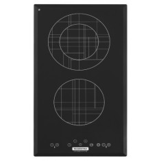 Foto Cooktop Tramontina Mondri Touch 2 EV 30 Design Collection Dominó Bocas
