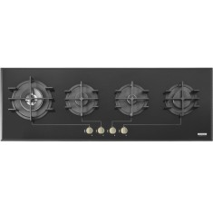 Foto Cooktop Tramontina 94742104 Design Collection Slim Vitrum 4 Bocas