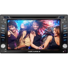 "Foto DVD Player Automotivo Aquarius 6 "" DPA4001 Touchscreen USB"