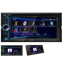"Foto DVD Player Automotivo JVC 6 "" KW-V20BT Touchscreen Bluetooth"