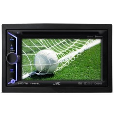 "Foto DVD Player Automotivo JVC 6 "" KW-V30BT Touchscreen Bluetooth"