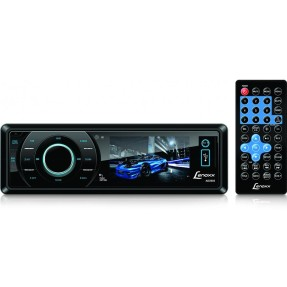 "Foto DVD Player Automotivo Lenoxx Sound 3 "" AD-2603 USB Entrada para camêra de ré"