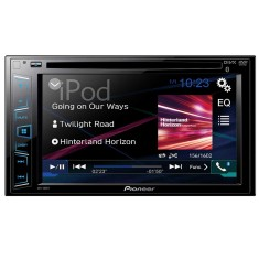 "Foto DVD Player Automotivo Pioneer 6 "" AVH-288BT Bluetooth Entrada para camêra de ré"