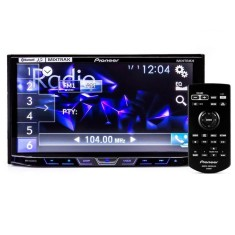 "Foto DVD Player Automotivo Pioneer 7 "" AVH-X5880TV Bluetooth USB"