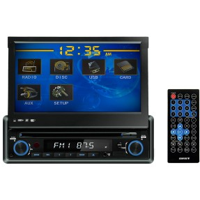 "Foto DVD Player Automotivo Sunfire 7 "" XDV-710 Touchscreen USB"