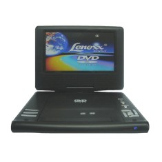 "Foto DVD Player Portátil Tela 7"" DT505 Lenoxx Sound"