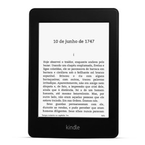 "Foto E-Book Reader Kindle 2 GB 6 "" Kindle Paperwhite com 3G - Amazon"