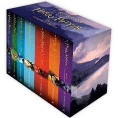 Foto Harry Potter Boxed Set: The Complete Collection - J.K Rowling - 9781408856772