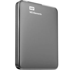Foto HD Externo Portátil Western Digital Elements WDBUZG0010BBK 1 TB