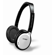 Foto Headphone Coby com Microfone CV191