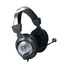 Foto Headset C3 Tech com Microfone Raptor MI-2870RS
